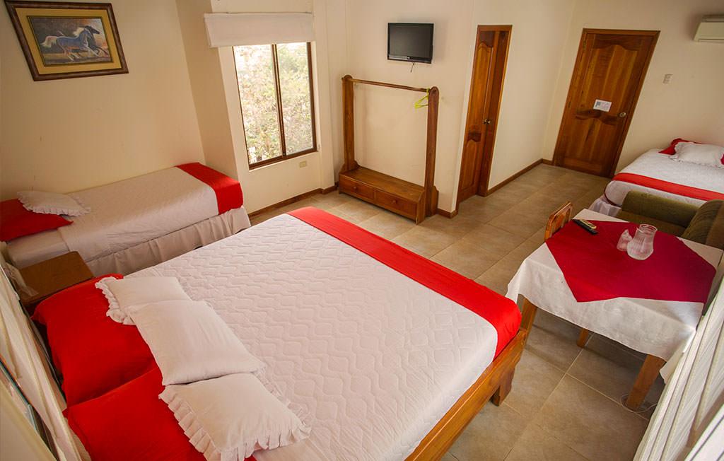 standard hotel room galapagos triple